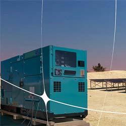 Diesel-Photovoltaik-Hybridsystem der Donauer Solartechnik Vertriebs GmbH