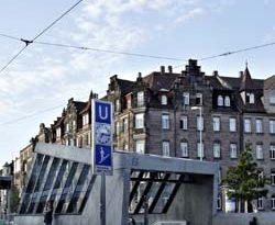 Beheizte Treppen für die neue U-Bahnstation mit dem Freiflächenheizsystem der AEG Haustechnik