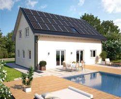 Energieautarkes Eigenheim Photovoltaik-Aktion von Hanlo und Monier Braas