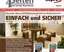 Sopro Bauchemie Newsletter