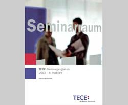 SHK-Seminarbroschüre des Haustechnikspezialisten TECE