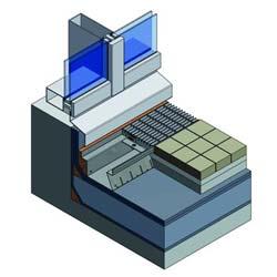 Birco Fassadenrinne für Neubauten und energetische Sanierung