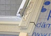 Dämmzarge optimiert Wärmeschutz am Dachfenster