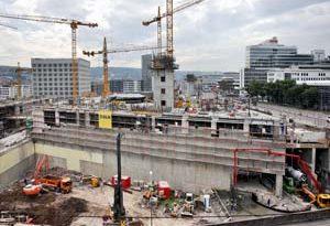 Milaneo - Architektur im neuen Stuttgarter Europaviertel von den Architekten Rhode Kellermann Wawrowsky
