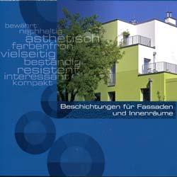 Eine neue Broschüre der Fachgruppe Putz & Dekor informiert über Beschichtungen für Fassaden und Innenräume