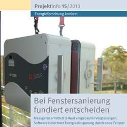 Bine Projektinfo: Mit mobilem Messgerät Fenster bewerten