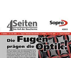 4x4 von Sopro Bauchemie