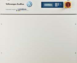 ZuhauseKraftwerk – Das Mini-Kraftwerk von LichtBlick mit Gas-Verbrennungsmotor EcoBlue von Volkswagen
