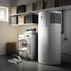 Warmwasser-Wärmepumpe mit PV-Anbindung von AEG Haustechnik