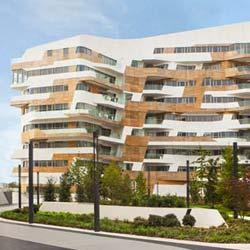 AGC Interpane: Zaha Hadid Residenzen, Mailand