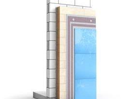 Glas-Wärmedämmverbundsystem (WDVS) weber.therm style Glas