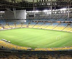 Stahltüren im WM-Stadion Maracanã