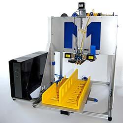 Multirap M420 druckt 22 cm hohe Objekte / Seminare im »Multec 3D-Druck Kompetenzzentrum«