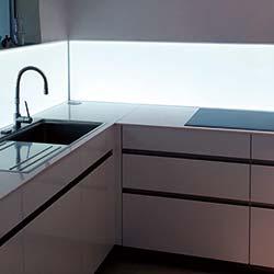 Sprinz LED Küchenwand