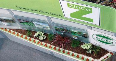 ZinCo Dachbegrünung aus nachwachsenden Rohstoffen