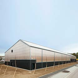 Mit der massiven Konstruktion aus Kalksandstein stellten die Planer sicher, dass das Zentrale Kunstdepot Freiburg unabhängig von der technischen Ausstattung sehr langsam auf äußere Einflüsse reagiert.