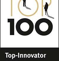 """Beim Innovationspreis werden die Unternehmen nach wissenschaftlichen Kriterien geprüft. Nur Unternehmen mit besonderer Innovationskraft und überdurchschnittlichen Innovationserfolge erhalten das """"Top 100""""-Siegel"""