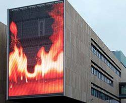 GKD Gebr Kufferath Medienfassade in Kopenhagen von Arkitema Architects