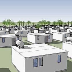 Low Cost Häuser für Krisen- und Entwicklungsländer