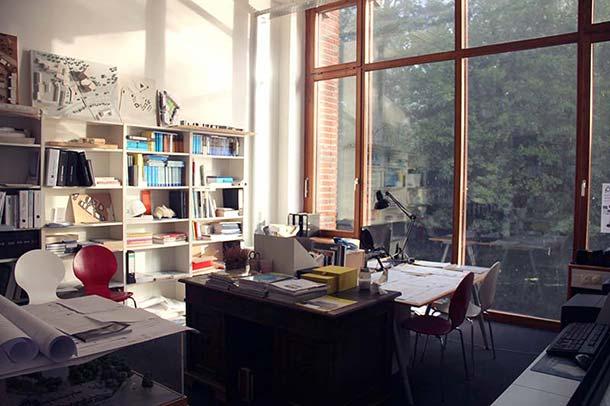 2013 gründete die junge Architektin Anika Müller ihr eigenes Büro – stilgerecht in einer im 14. Jahrhundert erbauten Wasserburg in Gelsenkirchen.