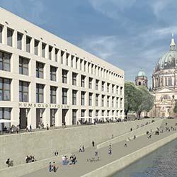 Dyckerhoff Weiss für Architekturbetonfassaden des Berliner Schlosses