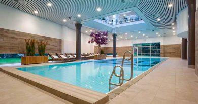 Helle Naturtöne dominieren im feinfühlig modernisierten Nagomi Spa & Health des Luxus-Hotels Okura Amsterdam