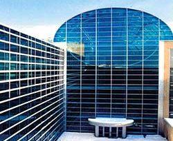 Glasatrium des Royal Alexandra Hospital