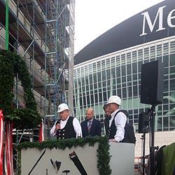Mercedes Platz in Berlin