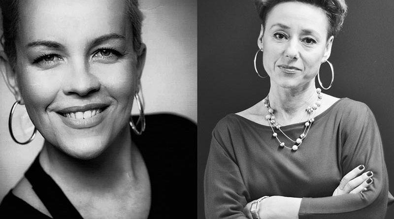 Die Redakteurinnen Joanna Tryniszewska (r.) und Joanna Klimowska-Kronic vom öffentlichen Fernsehkanal TVP1 sind die Gewinnerinnen des mit 5.000 Euro dotierten Journalistenpreises für Klimaschutz, Erneuerbare Energien und Energieeffizienz in Polen 2017/2018.