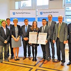 Dyckerhoff Förderpreis für Betontechnologie