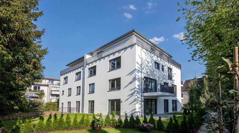 Wohnen in Sendling: Das hier verwendete Mauerwerk punktet mit gutem Schall- und Wärmeschutz, so dass die zehn Wohnungen trotz Nähe zur Hauptstraße ein ruhiges Wohnumfeld bieten. Bild: UNIPOR /München.