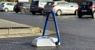 Dank der robusten Technik im Edelstahlgehäuse hält Parklio selbst gröbsten Vandalismus- und Manipulationsversuchen stand. Foto: Vesale Parking GmbH