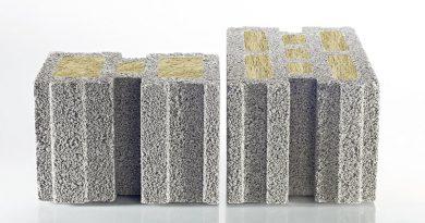 Massiver, mineralischer Leichtbeton setzt sich aus porigen Zuschlägen zusammen. Bei KLB-Leichtbetonsteinen bestehen diese aus Bims – einem Rohstoff vulkanischen Ursprungs, der selbst höchsten Temperaturen standhält. Foto: KLB Klimaleichtblock