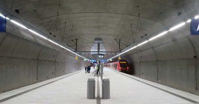 Die S-Bahn-Station Gateway Gardens wurde in Ortbetonbauweise errichtet. Foto: Dyckerhoff