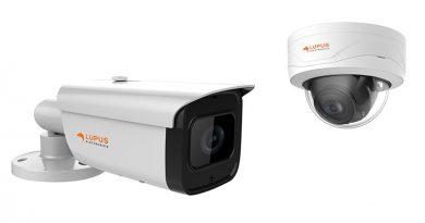 Auch außerhalb der dunklen Jahreszeit können zwei neue Überwachungskameras LUPUS-Electronic selbst bei schlechtesten Lichtverhältnissen gestochen scharfe Bildaufnahmen liefern.