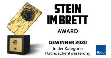Das Unternehmen aus Rheda-Wiedenbrück wurde von Praktikern auf Platz 2 im Bereich Flachdachentwässerung gewählt.