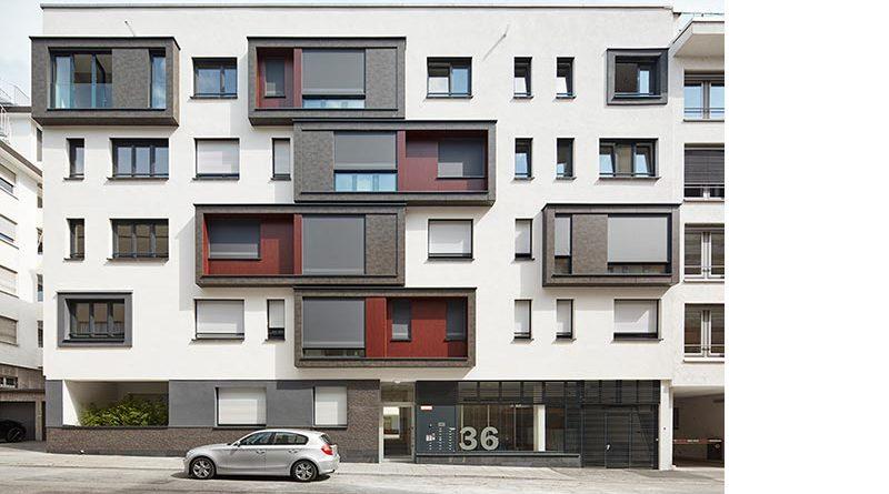 Urban Living Stuttgart. Die Fassade nach dem Umbau