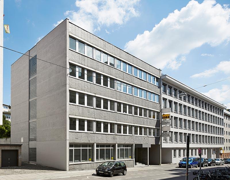 Urban Living Stuttgart. Die Fassade vor dem Umbau