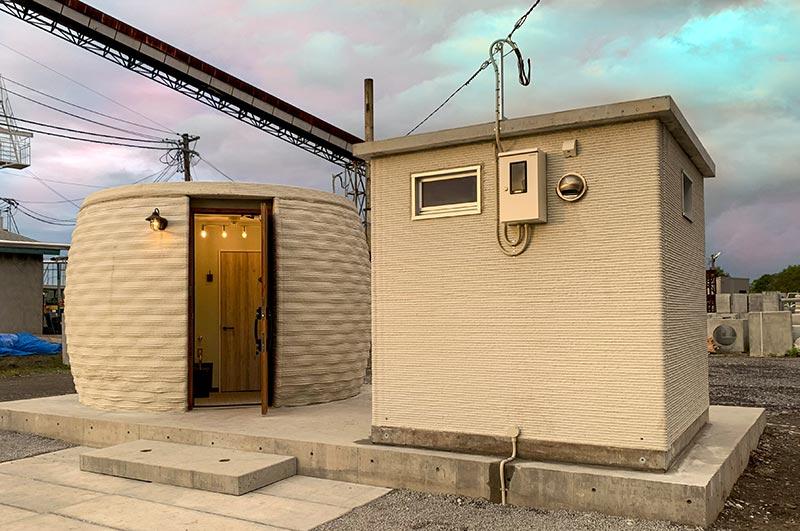 Auch im öffentlichen Bereich stellt der 3D-Druck für den Bau von Sanitärräumen eine äußerst attraktive Lösung dar. Korodur und CyBe erstellten dieses Pilotprojekt für den Sapporo Park in Fukagawa (Nordjapan). Foto: 2020 CyBe Construction