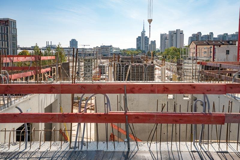 Das neue Quartier zeichnet sich durch seine zentrale Lage in München aus. Bildquelle: NOE-Schaltechnik