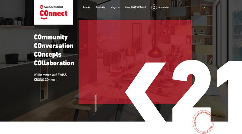 SWISS KRONO COnnect Plattform gestartet