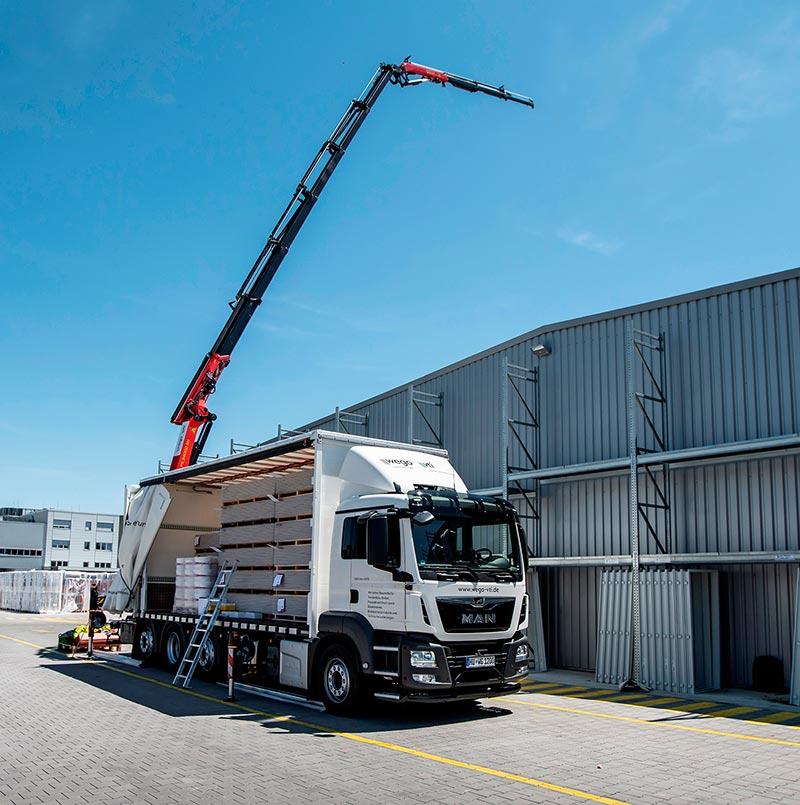 Im Zuge der Fuhrparkerneuerung plant Wego/Vti auch einen Ausbau der Hochlogistik. Foto: Wego/Vti