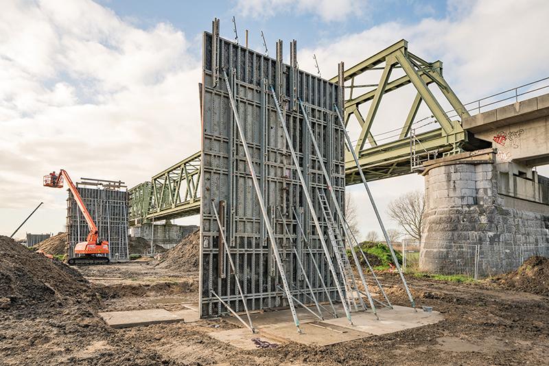 Die XXL-Version der NOEtop ermöglicht es, eine Fläche von über 14 m² ohne einen einzigen Schalstoß zu betonieren. Foto: NOE-Schaltechnik