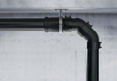 In den Aufprallzonen des Abwassers helfen zusätzliche Schallschutzrippen, die Geräuschentwicklung zu reduzieren. Bildquelle: Geberit